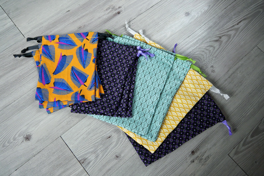 NOUVEAU : gamme d'accessoires zéro déchet 100% coton