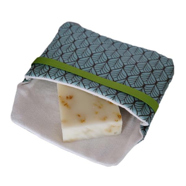 Pochette savon imperméable